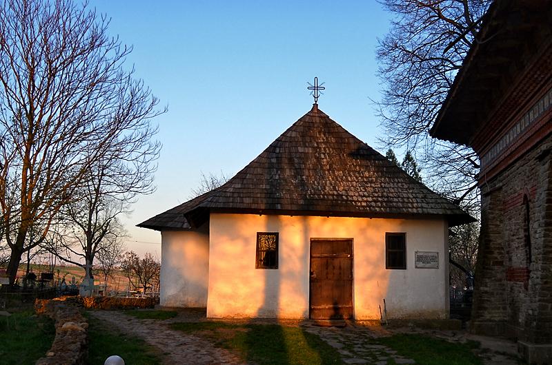 Casa de vara din aproprierea casei memoriale Mihai Eminescu.