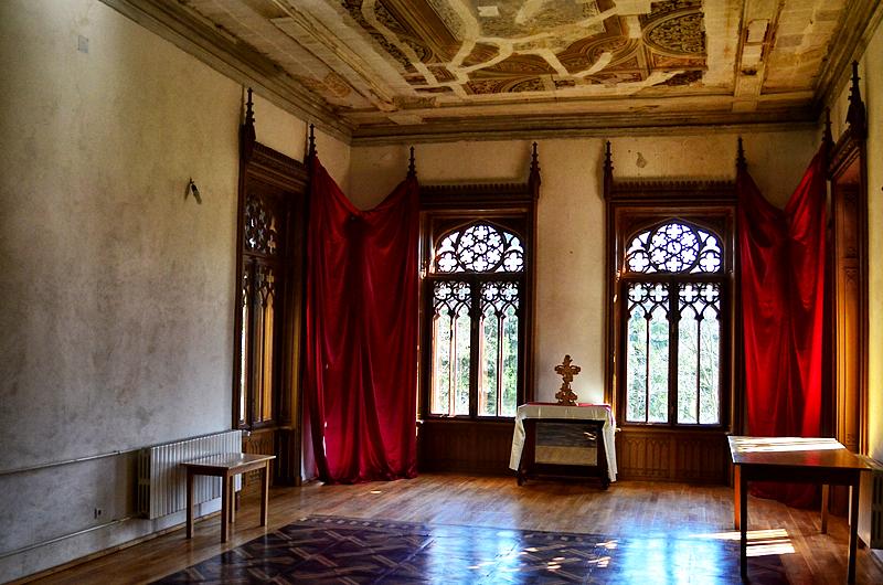 Sala mare a castelului Sturdza