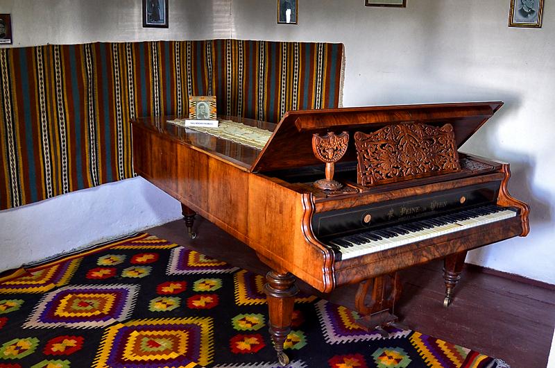 Pianul lui Ciprian Porumbescu