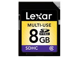 Lexar SDHC 8GB