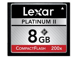 Lexar Compact Flash 200x 8GB