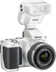 Nikon 1 V2 - blit Speedlight SB-N7
