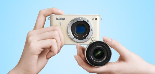 Nikon 1 J3 - Design irezistibil