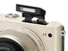 Nikon 1 J3 - Blit incorporat